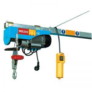 MB200 Mini Electric Palanque, palanca eléctrica
