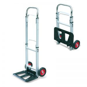 AT90 Carro portátil portátil de aluminio plegable para sacos pesados